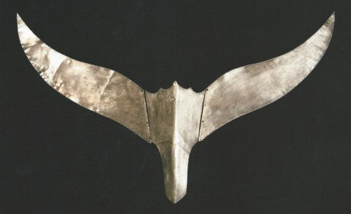 Silver Crown Ornament, Great Tomb of Hwangnam (South mound), L. 56 cm, Silla period, Kyongju