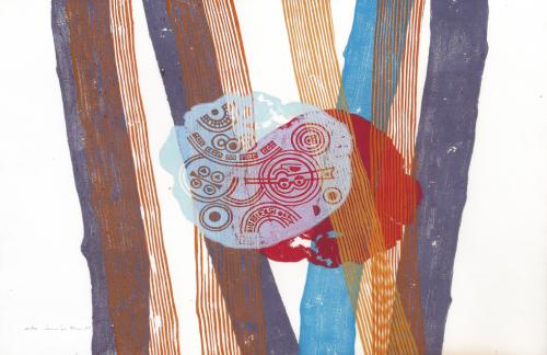 Superposition - Janvier 1971 © Image Karine Valensi